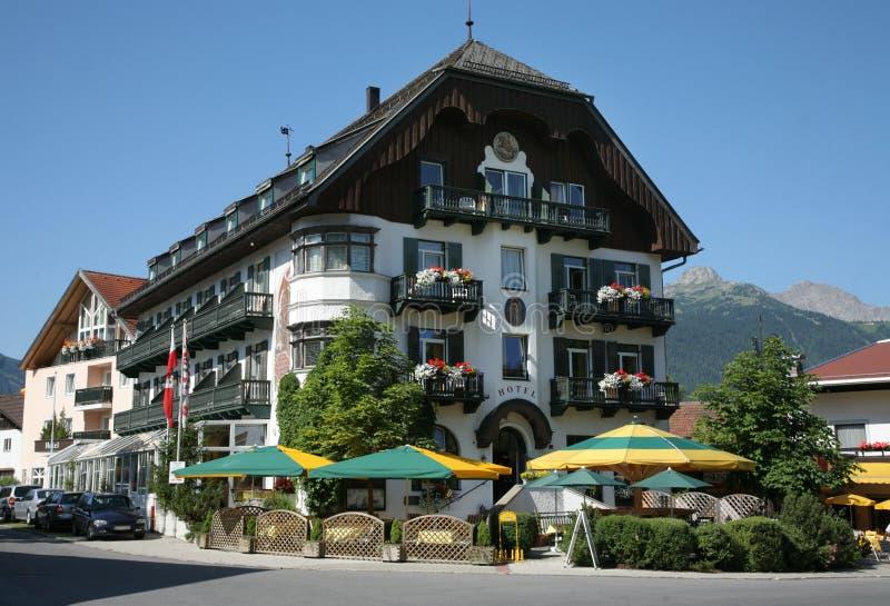 Alpine Resort Hotel stock images