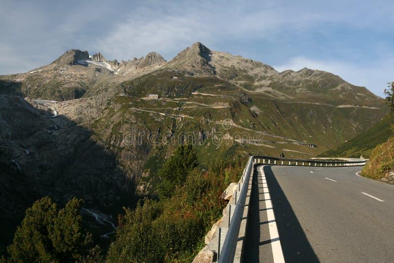Alpine Road royalty free stock photography