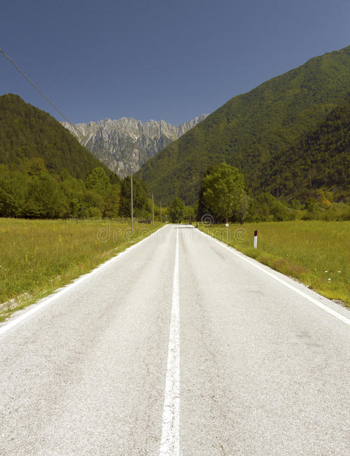 Download Alpine Road in Europe stock photo. Image of highway, motion - 26417454