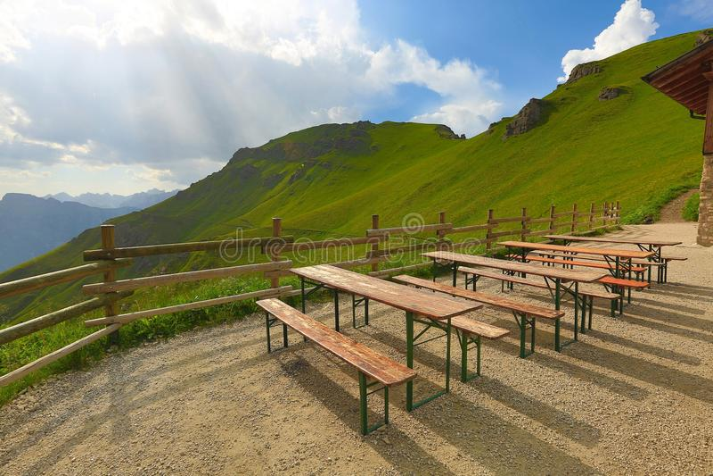 Alpine Summer Landscape royalty free stock photo