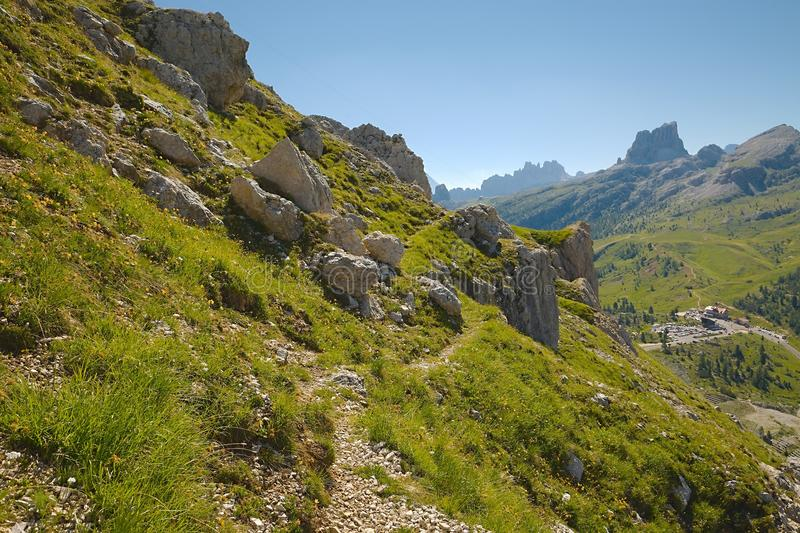 Alpine Summer Landscape royalty free stock photography