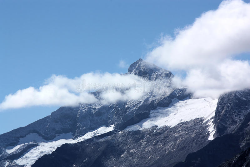 Download Alpine summit stock photo. Image of alpin, mountains - 27008828