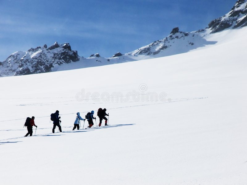 Alpine vacation royalty free stock photo