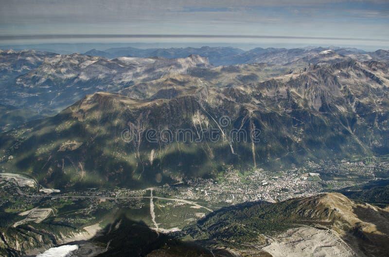 Alpine valley stock photos