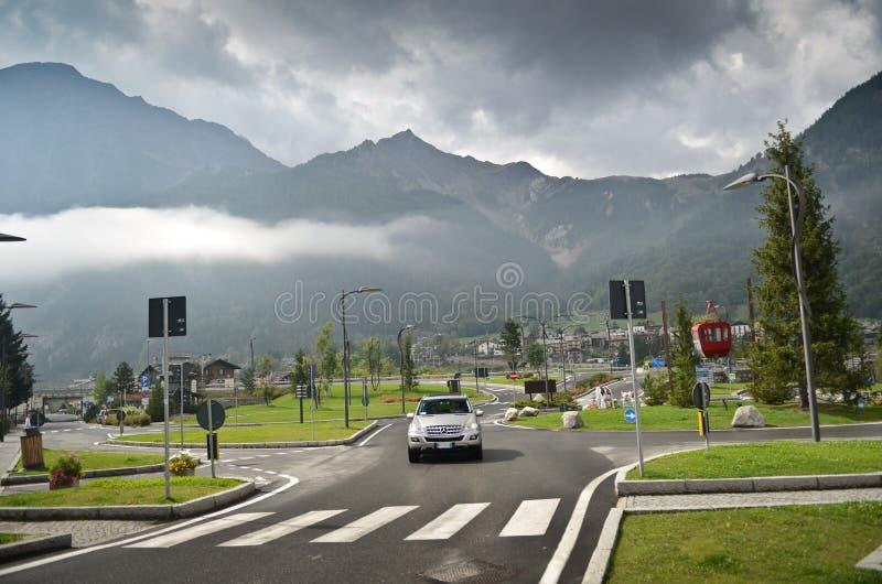 Download Alpine Village - Courmayeur Editorial Image - Image: 27196340