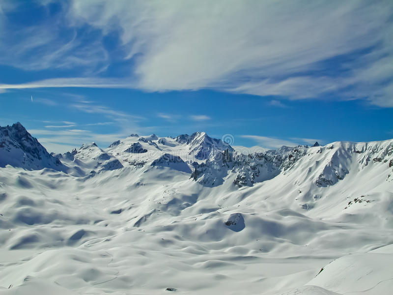 Alpiner Frieden lizenzfreies stockbild