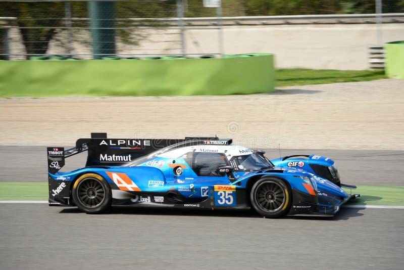 Alpiner Matmut Le Mans Prototyp Signatech in Monza stockfoto