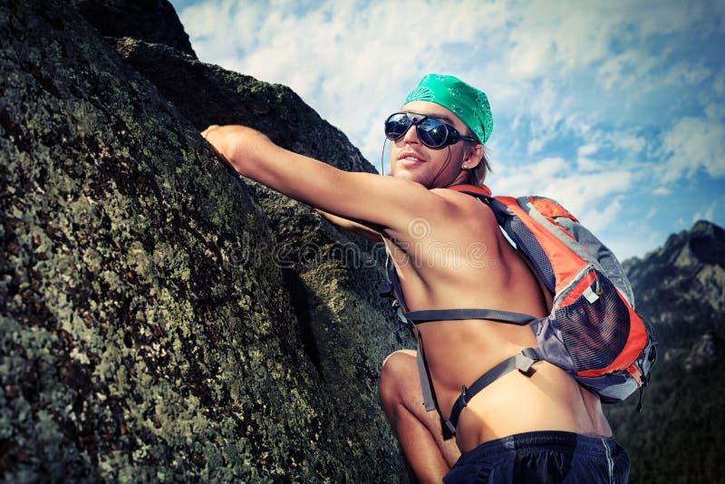 Alpinism fotos de stock royalty free
