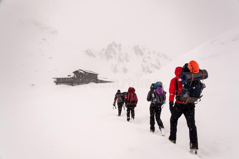 alpinisme photos stock