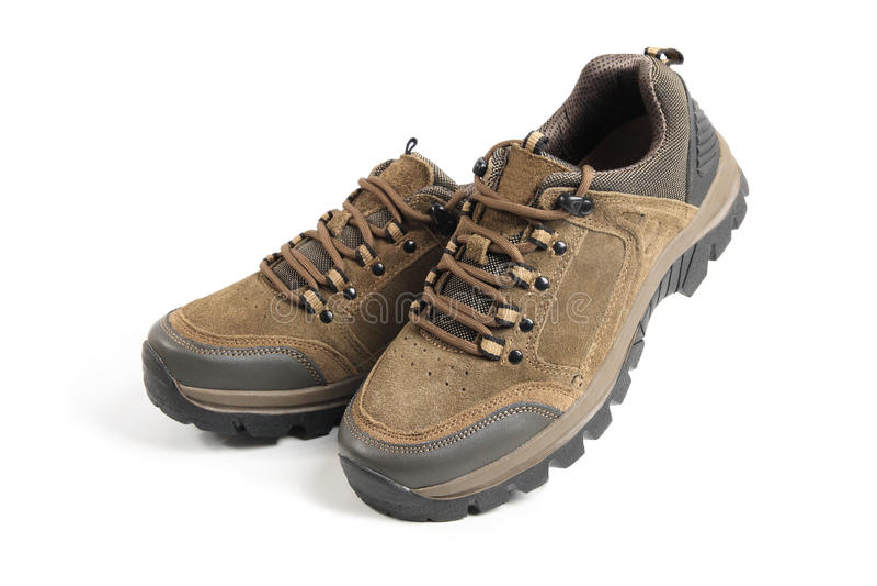 Alpinisme augmentant des chaussures images stock