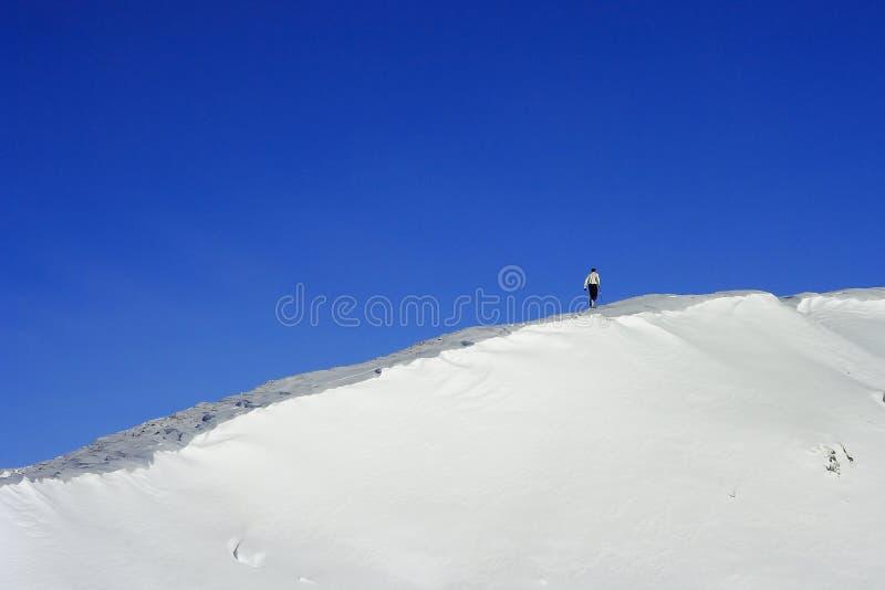 Alpinismo fotografía de archivo libre de regalías