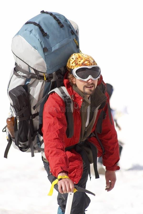 alpinist royaltyfri foto