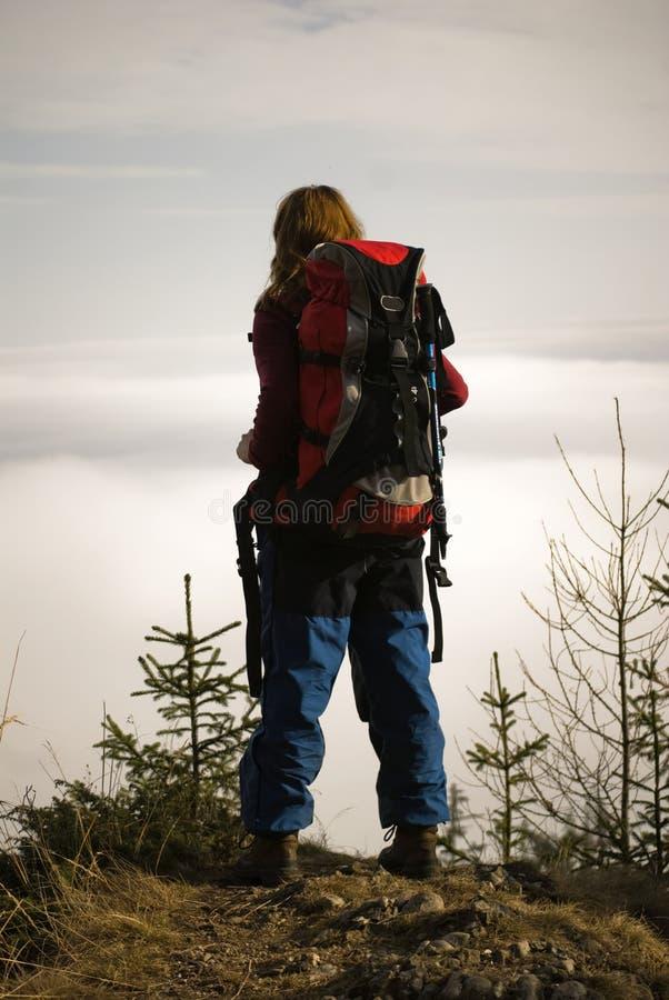 Alpinista fotografia de stock