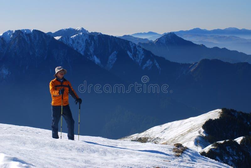 Alpinista. fotos de stock