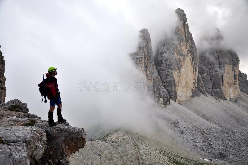 Alpinista fotos de stock royalty free