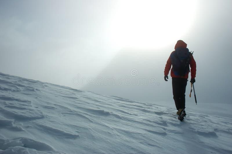 Alpinista fotografia stock libera da diritti