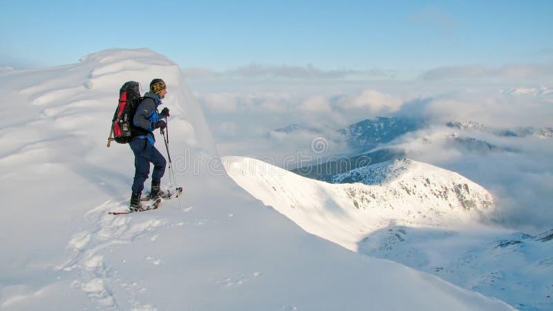 alpinista zdjęcie stock