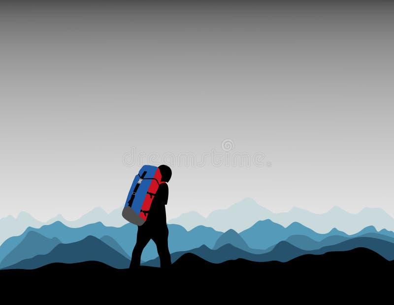 Alpinista imagem de stock royalty free