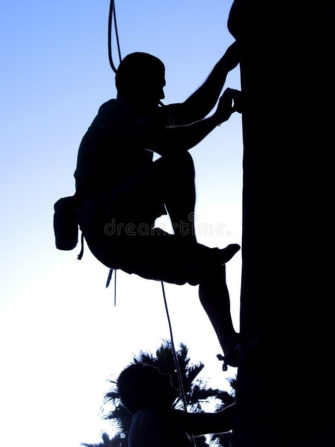 Alpinista due fotografie stock libere da diritti