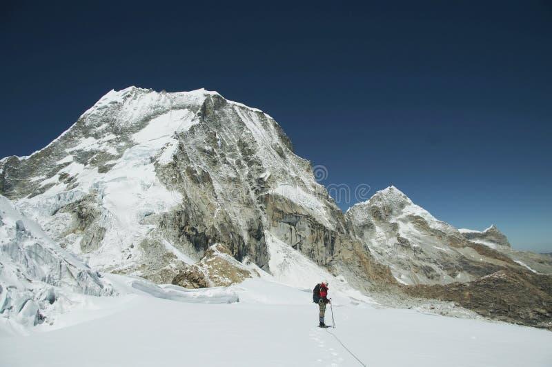 Alpiniste photo stock