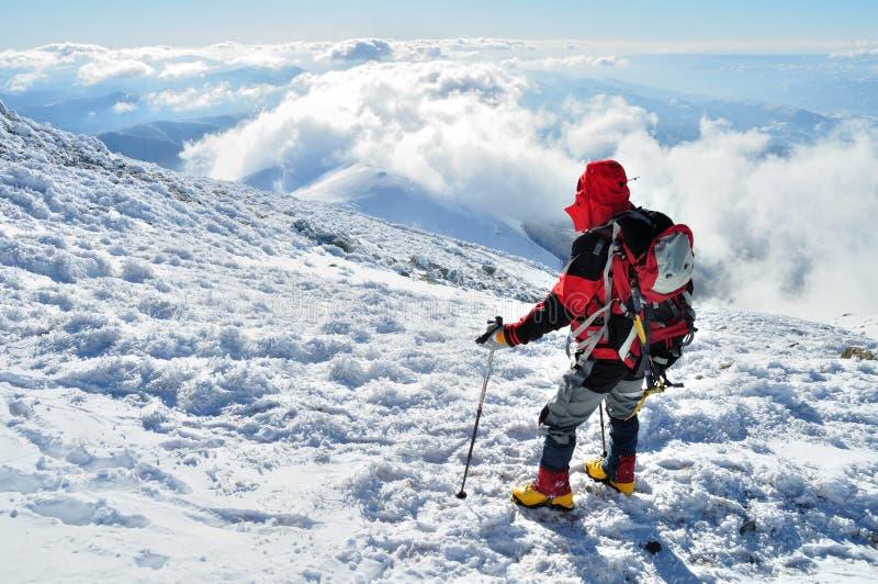 Alpiniste photos stock