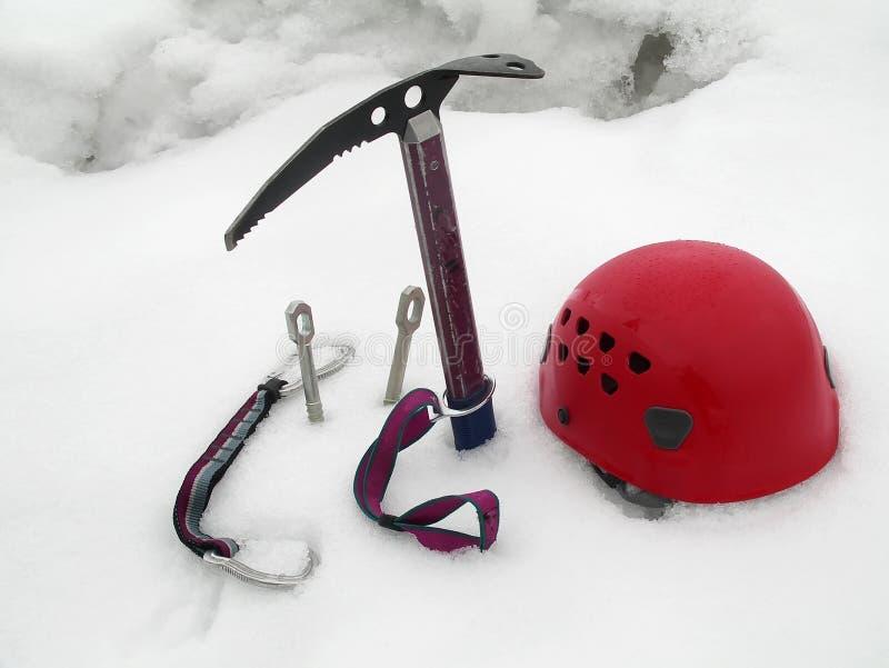Alpiniste 2 photo stock
