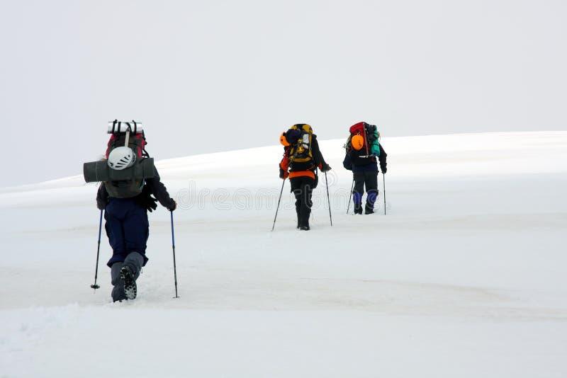 Alpinists fotos de stock