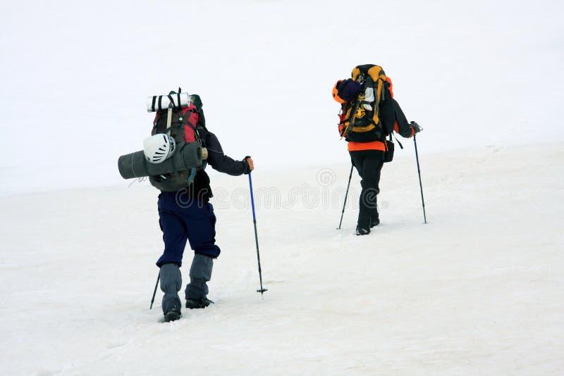 Alpinists foto de stock royalty free