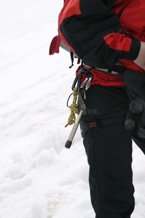 Alpinistyki wyposażenie fotografia royalty free