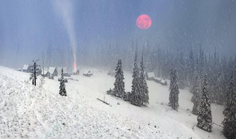 Alpino è il clima fotografie stock