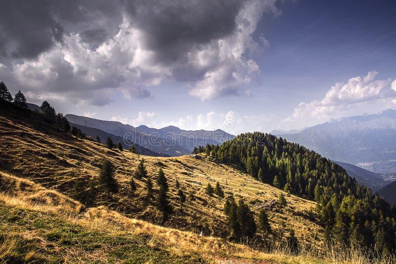 Alpino de panorama image libre de droits