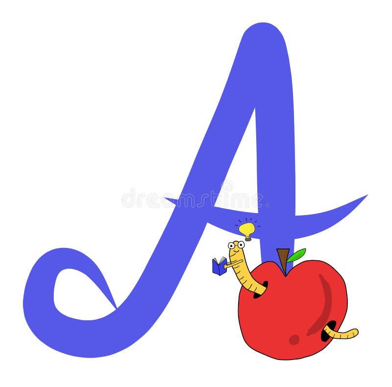 Alplabet a стоковое изображение rf
