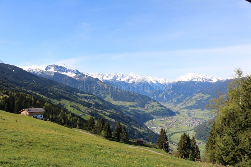 alps австрийские стоковое фото