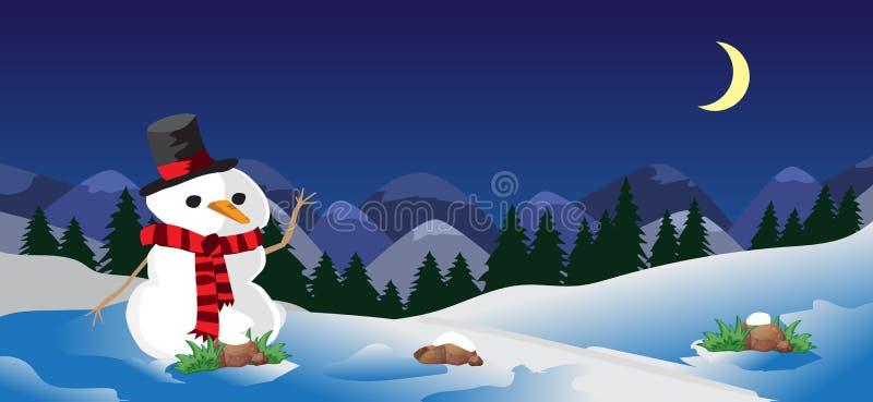 alps покрыли древесины зимы малого снежка места дома швейцарские бесплатная иллюстрация