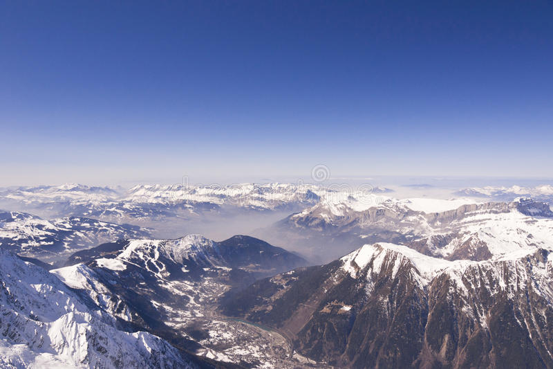 alps французские стоковое фото rf