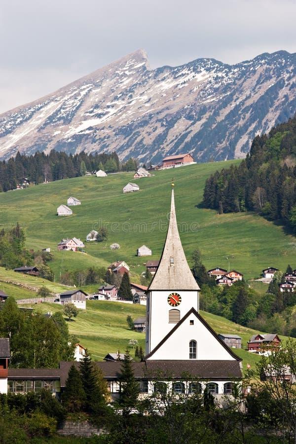 alps швейцарские стоковое изображение