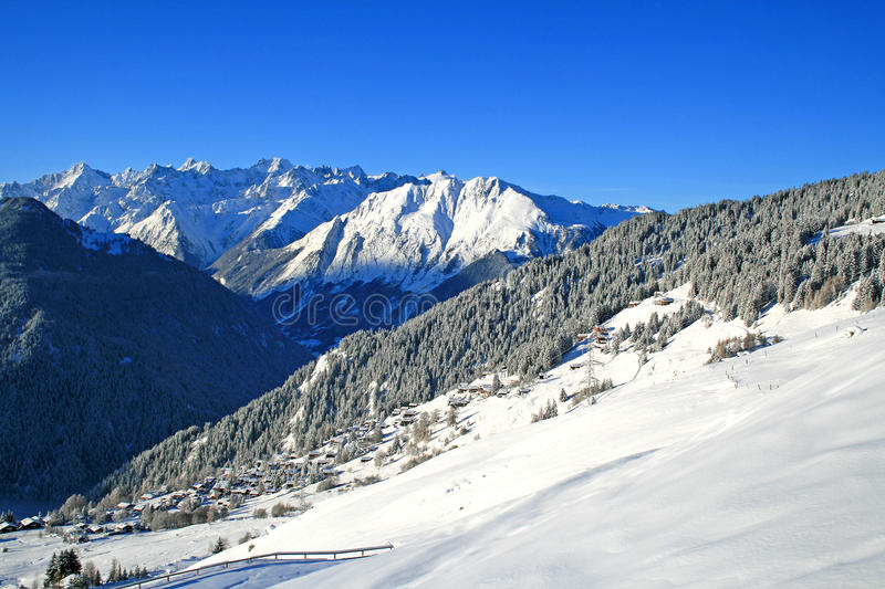 Download Alps stock image. Image of extreme, seethe, evergreen - 13247443
