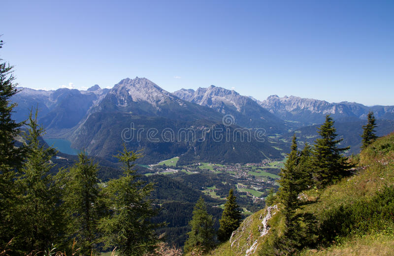 Alps royalty free stock photos
