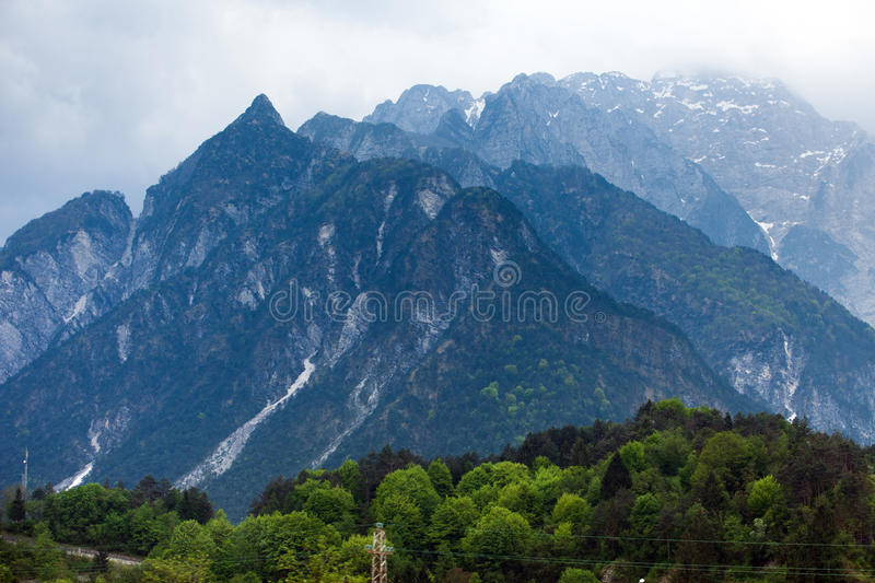 Download Alps stock image. Image of mountains, rock, snowy, austria - 27595945