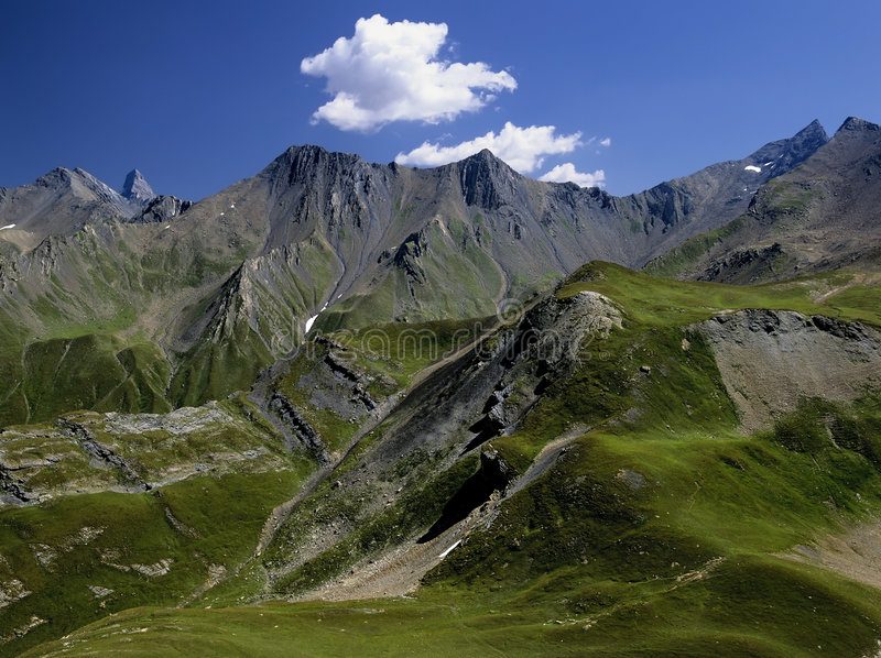 Download Alps stock photo. Image of european, mountain, summit - 5998414