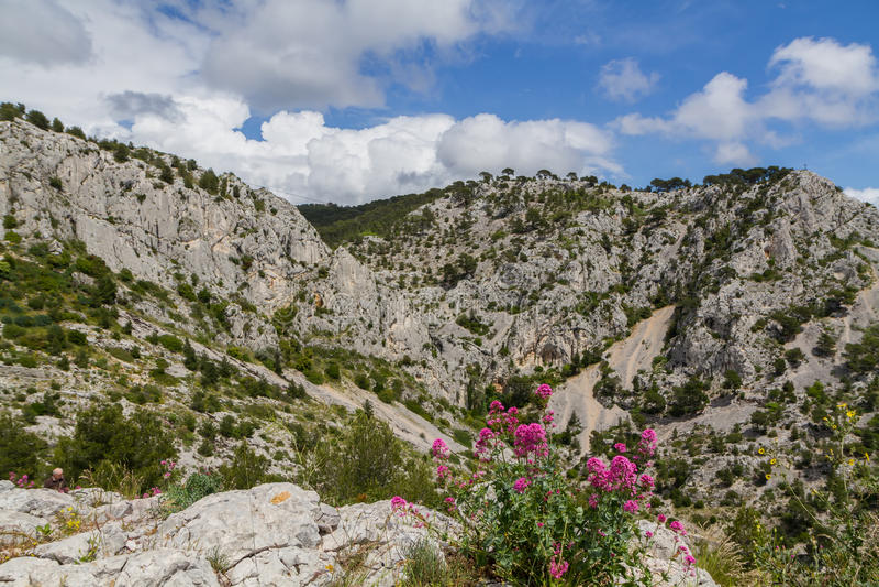 Alps. Alpes De Provence Fotografia Royalty Free