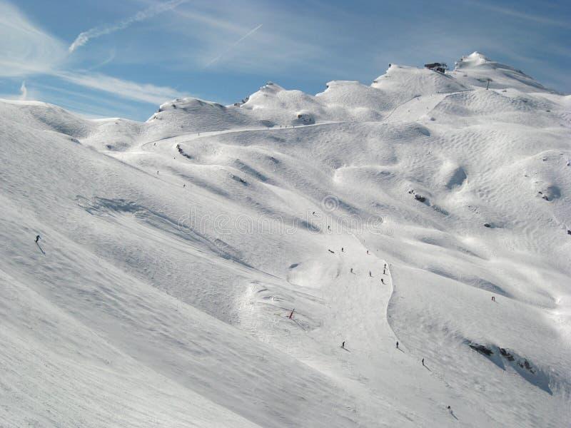 alps avoriaz zdjęcia stock
