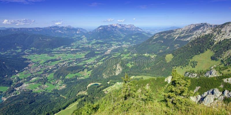 Alps Bavaria, Niemcy Berchtesgaden zdjęcie stock