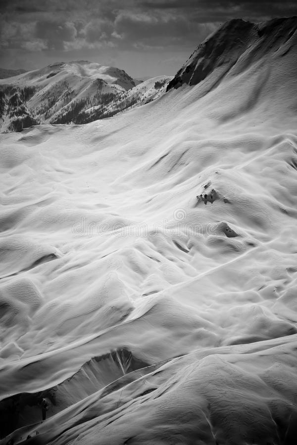 Alps - Black And White Royalty Free Stock Images