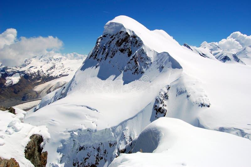 alps breithorn góry szwajcar obraz stock
