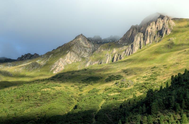 Alps, Cloud, Clouds royalty free stock photos