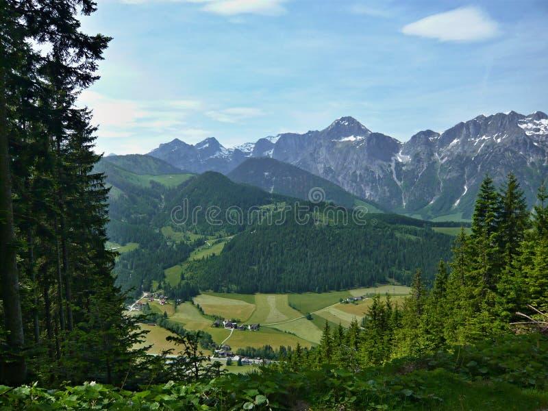 Download Alps-down St.Martin stock image. Image of peak, europe - 28803635