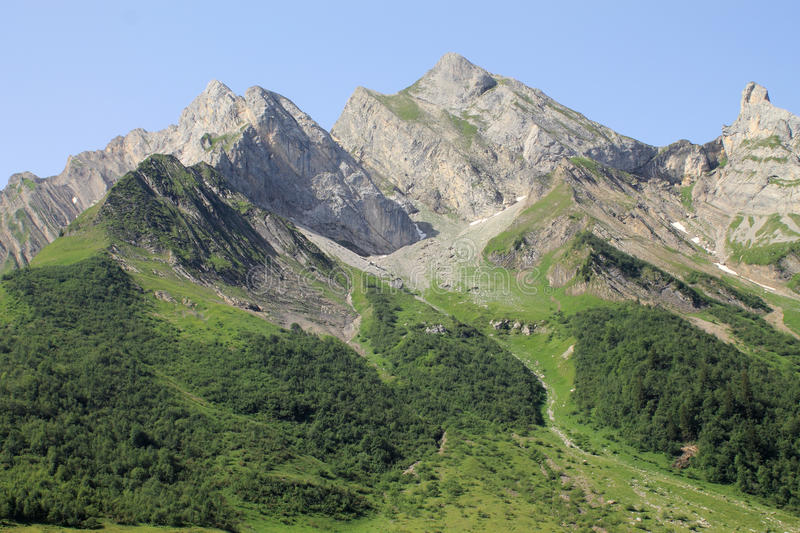 The Alps In France Royalty Free Stock Photos