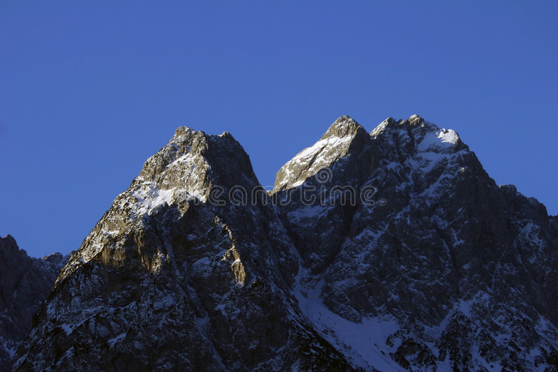 Alps Germany stock image