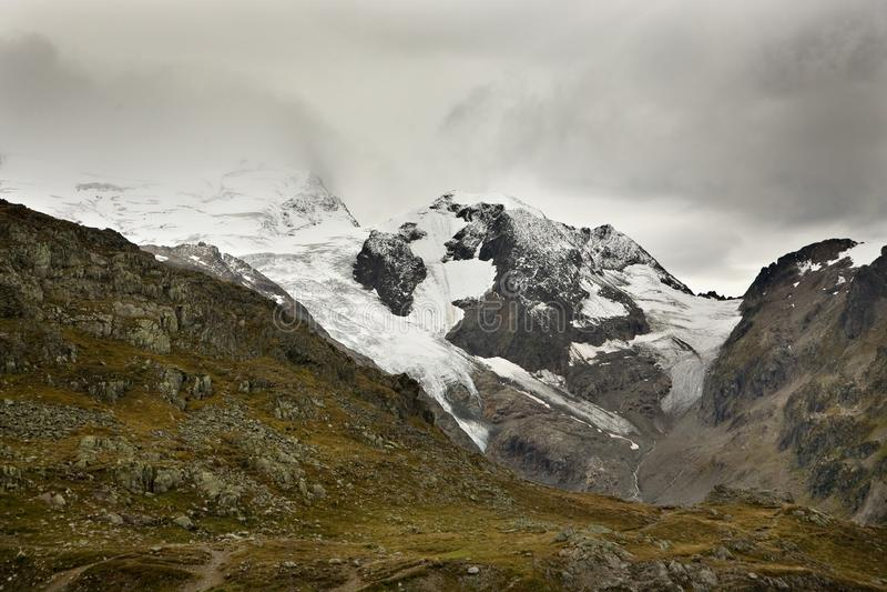 Alps and Glaciers in Switzerland
